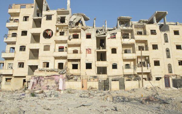 Ngôi nhà bị phá hủy ở Raqqa - Sputnik Việt Nam