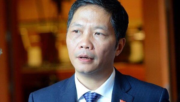 Bộ trưởng  Trần Tuấn Anh - Sputnik Việt Nam