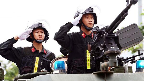 Quân đội, Cảnh sát đảm bảo An ninh APEC - Sputnik Việt Nam