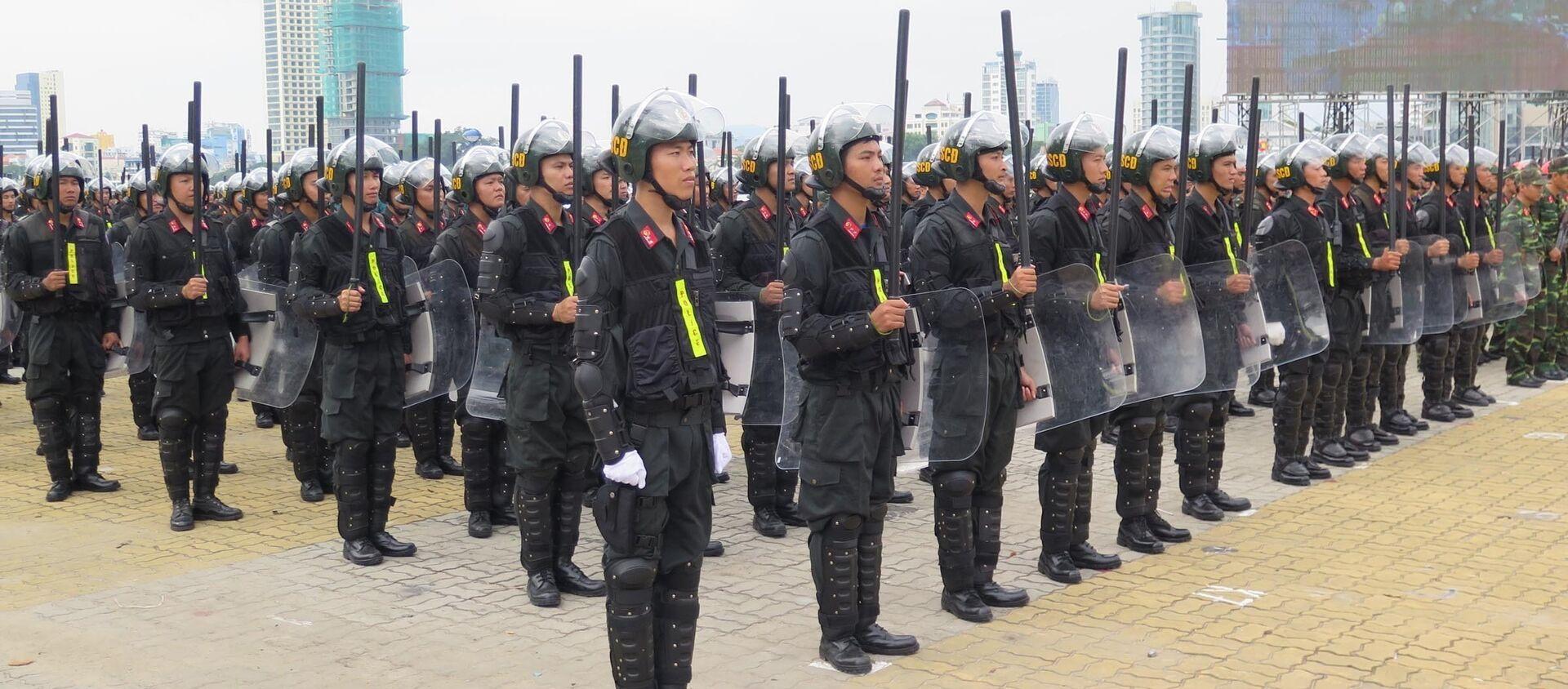 Вьетнам атэс саммит полиция подготовка полицейский - Sputnik Việt Nam, 1920, 08.12.2017