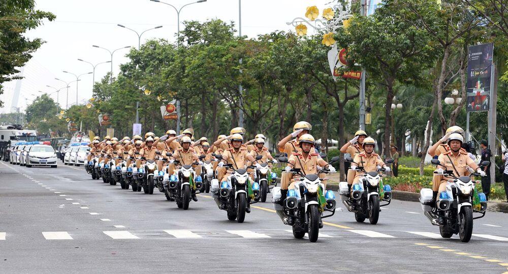 Вьетнам атэс саммит полиция подготовка полицейский