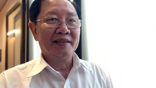 Bộ trưởng Bộ Nội vụ Lê Vĩnh Tân - Sputnik Việt Nam