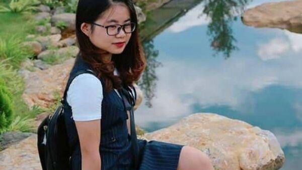 Nữ sinh Nguyễn Thị Phương Mai mất tích sau những dòng tin nhắn lạ. - Sputnik Việt Nam