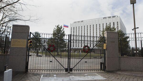 Посольство России в Вашингтоне, США - Sputnik Việt Nam