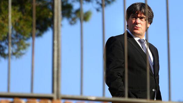 Thủ tướng chính phủ Catalonia Carles Puchdemon - Sputnik Việt Nam