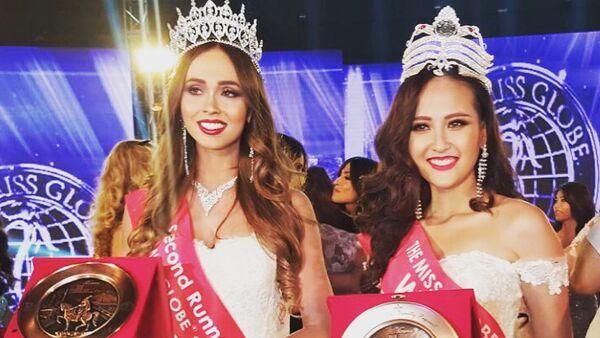 Người đẹp Nga nhường vương miện Miss Globe cho mỹ nhân Việt Nam (ảnh) - Sputnik Việt Nam