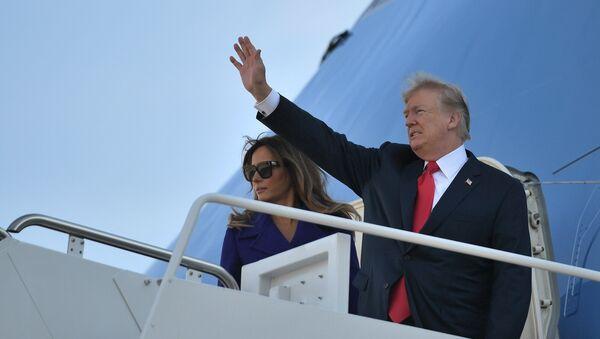 Donald Trump và Melania Trump - Sputnik Việt Nam