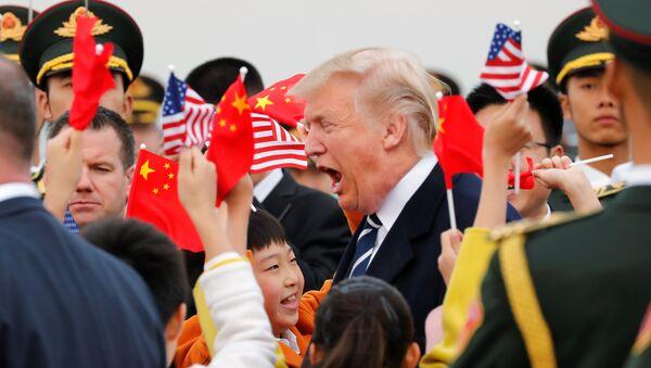 Tổng thống Hoa Kỳ Donald Trump ở Bắc Kinh, Trung Quốc - Sputnik Việt Nam