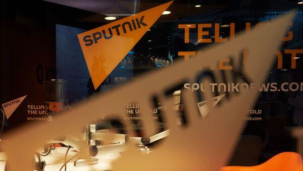 Khu vực của Hãng thông tấn Sputnik trước lễ khai mạc Diễn đàn Kinh tế Quốc tế St. Petersburg 2015 - Sputnik Việt Nam