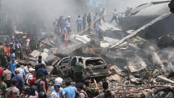 Theo dữ liệu mới nhất, tại chỗ xảy ra tai nạn có 30 người thiệt mạng, số người tử vong có thể tăng thêm - Sputnik Việt Nam
