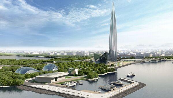 """Đề án xây dựng quần thể phức hợp đa chức năng """"Trung tâm Lakhta"""" tại quận Primorsky của St. Petersburg - Sputnik Việt Nam"""