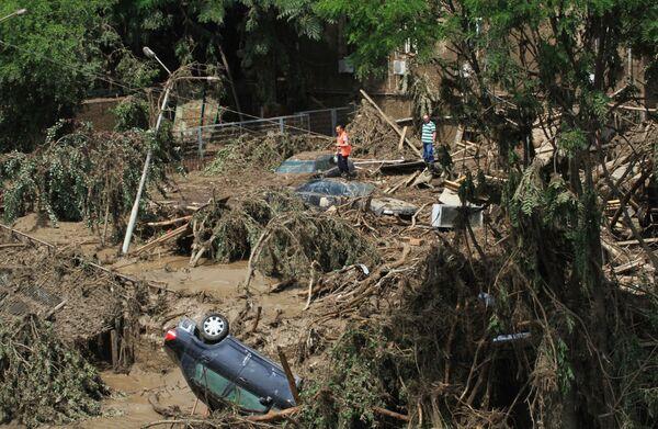 Hậu quả của lũ lụt ở Tbilisi - Sputnik Việt Nam