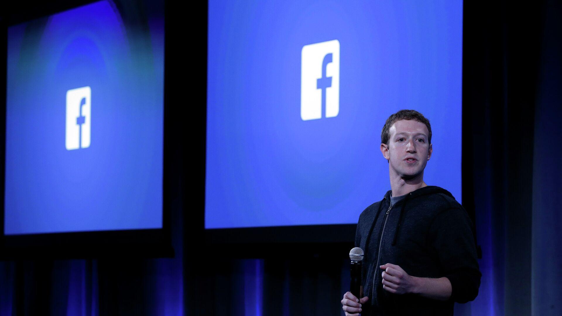 Mark Zuckerberg  - Sputnik Việt Nam, 1920, 05.10.2021