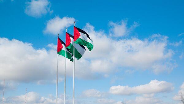 Quốc kỳ Palestine - Sputnik Việt Nam