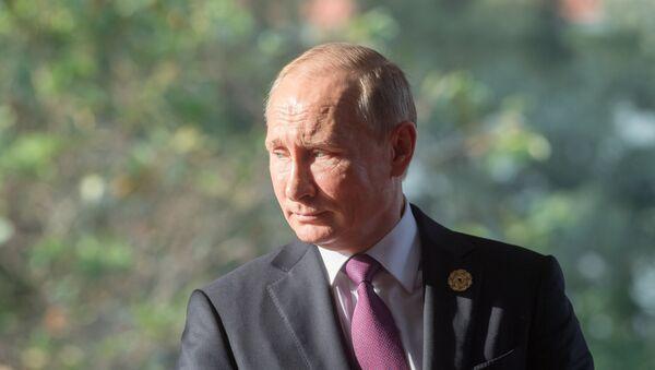 Vladimir Putin tại APEC-2017 - Sputnik Việt Nam