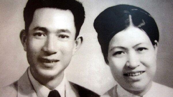 Vợ chồng cụ Trịnh Văn Bô - Hoàng Thị Minh Hồ - Sputnik Việt Nam