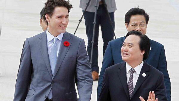 Thủ tướng Canada Justin Trudeau tham dự Tuần lễ Cấp cao APEC 2017 - Sputnik Việt Nam
