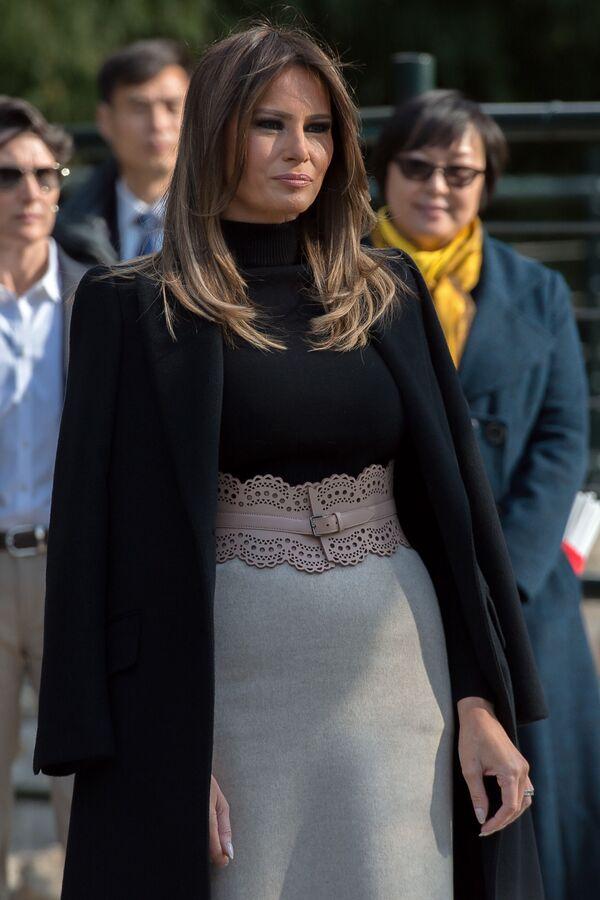 Đệ nhất phu nhân Hoa Kỳ Melania Trump thăm Vườn thú Bắc Kinh - Sputnik Việt Nam