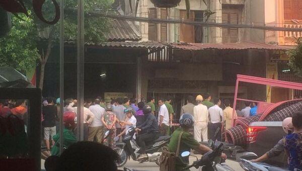 Hiện trường vụ nổ nghiêm trọng khiến một người chết - Sputnik Việt Nam
