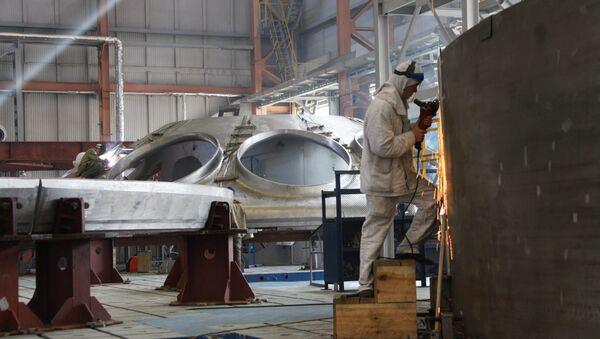 Thi công tổ máy năng lượng BN-800 của Nhà máy điện hạt nhân Beloyarsk - Sputnik Việt Nam
