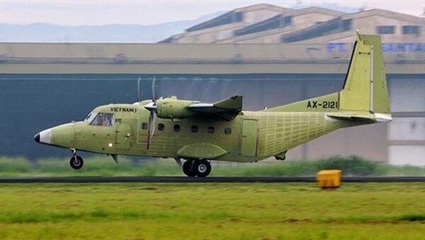 Máy bay vận tải - tuần thám biển NC-212i của Việt Nam tiến hành chuyến bay thử nghiệm - Sputnik Việt Nam