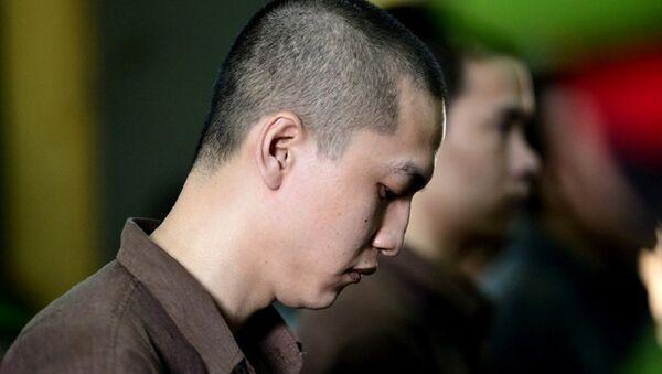 Nguyễn Hải Dương tại phiên xử phúc thẩm tháng 7/2016. - Sputnik Việt Nam