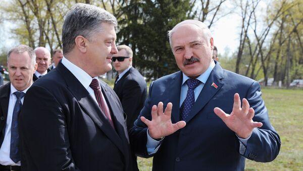 Tổng thống Ukraine và Belarus - Sputnik Việt Nam