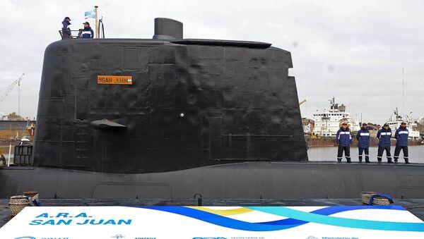 Аргентинская подводная лодка Сан Хуан - Sputnik Việt Nam
