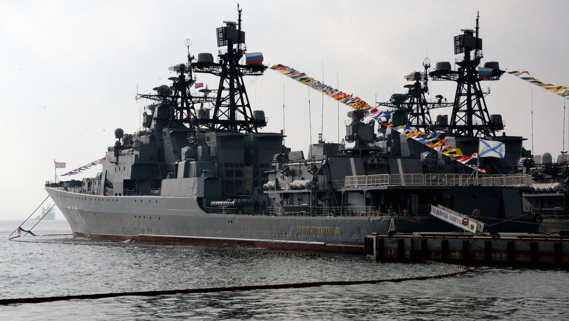 Tàu ngầm Đô đốc Panteleyev. - Sputnik Việt Nam, 1920, 10.06.2021