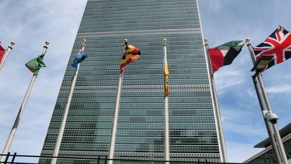 Здание ООН в Нью-Йорке - Sputnik Việt Nam