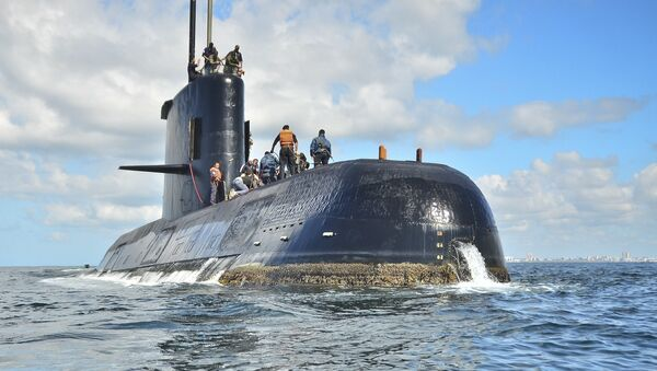 "Tàu ngầm Argentina ""San-Juan"" - Sputnik Việt Nam"