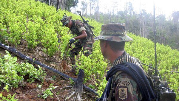 Quân nhân Colombia - Sputnik Việt Nam