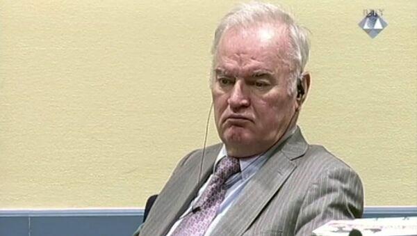 Cựu chỉ huy quân đội Serbia ở Bosnia Ratko Mladic - Sputnik Việt Nam