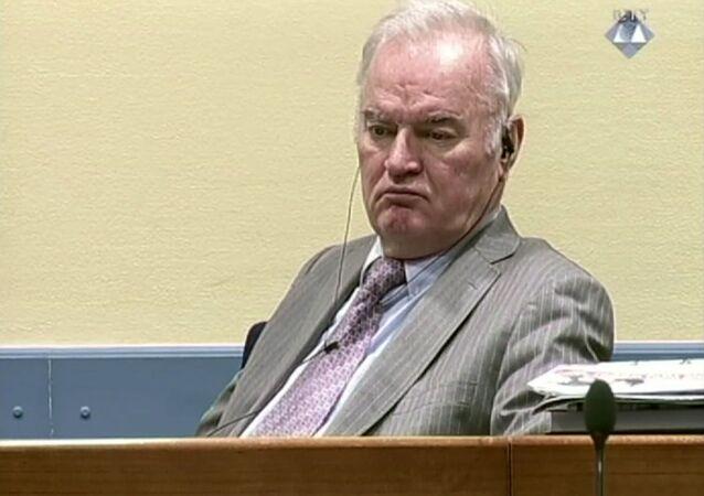 Cựu chỉ huy quân đội Serbia ở Bosnia Ratko Mladic