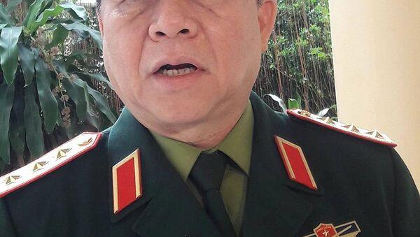 Thượng tướng Nguyễn Trọng Nghĩa – Phó Chủ nhiệm Tổng Cục chính trị QĐND Việt Nam. - Sputnik Việt Nam
