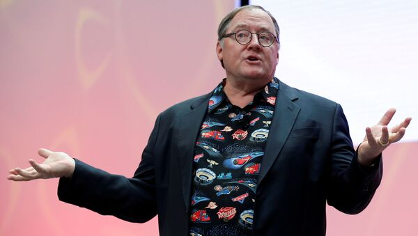 Người đồng sáng lập Pixar John Lasseter - Sputnik Việt Nam