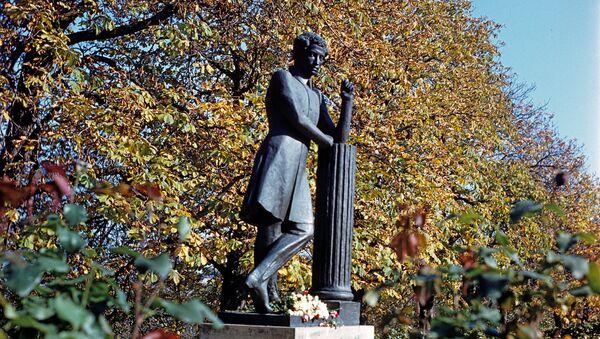 Đài tưởng niệm Pushkin  ở Moldova - Sputnik Việt Nam