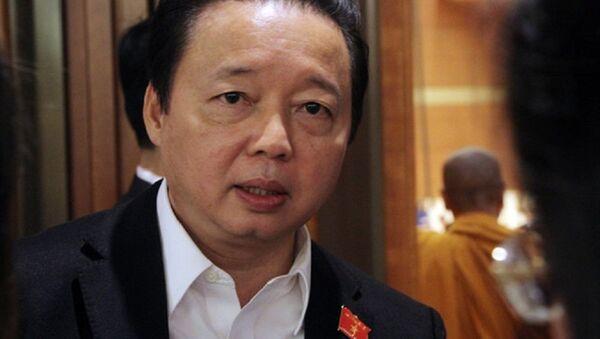 Bộ trưởng Tài nguyên và Môi trường Trần Hồng Hà - Sputnik Việt Nam