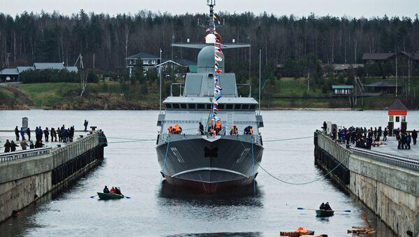 Tàu tên lửa nhỏ của Nga (tàu hộ tống) dự án 22800 Karakurt - Sputnik Việt Nam