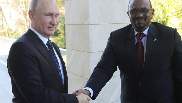 Президент РФ В. Путин встретился с президентом Судана О. Баширом - Sputnik Việt Nam