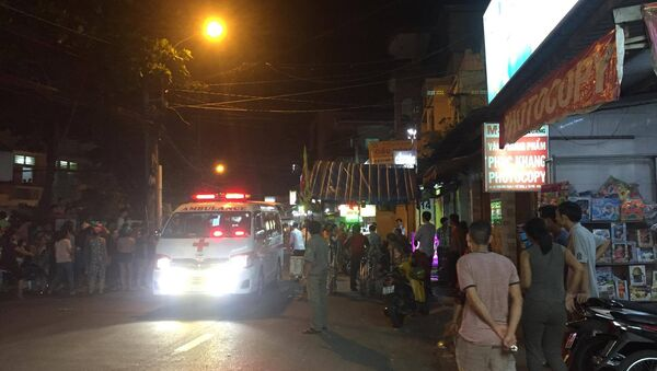 Bé trai 6 tuổi bị sát hại khiến người nhà vô cùng đau đớn. - Sputnik Việt Nam