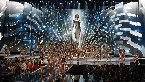 """Những người đẹp dự cuộc thi """"Hoa hậu Hoàn vũ 2017"""" tại Las Vegas. - Sputnik Việt Nam"""