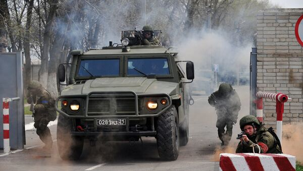 Учения спецназа в Ростовской области - Sputnik Việt Nam