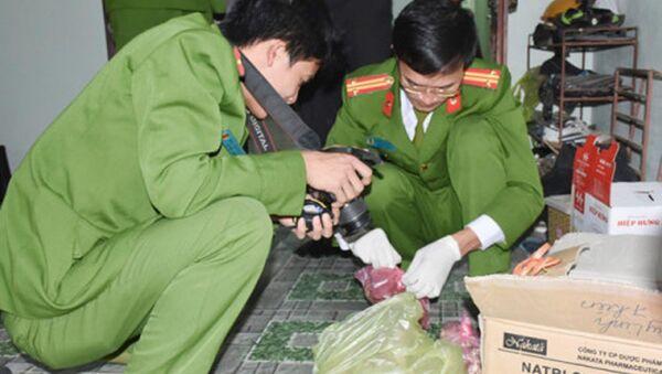 Công an Thanh Hóa khám nghiệm hiện trường vụ án - Sputnik Việt Nam