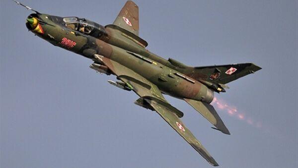 Cường kích Su-22M4 của Không quân Ba Lan - Sputnik Việt Nam