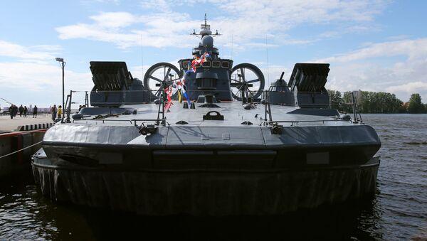 Tàu đổ bộ đệm khí Evgeny Kocheshkov. - Sputnik Việt Nam