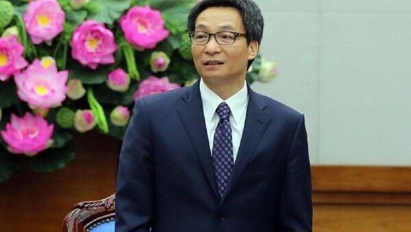 Phó Thủ tướng Chính phủ Vũ Đức Đam - Sputnik Việt Nam