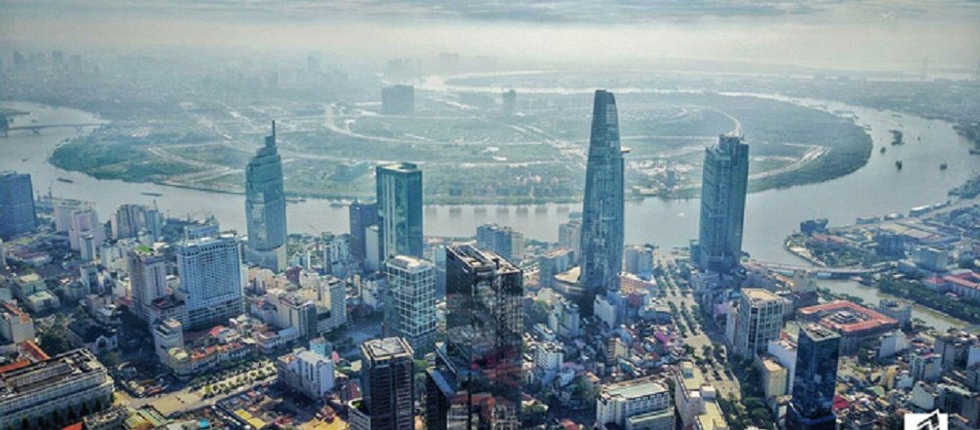 Đây là một trong 4 tòa nhà cao nhất TP.HCM hiện nay - Sputnik Việt Nam, 1920, 23.05.2018