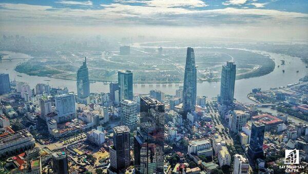 Đây là một trong 4 tòa nhà cao nhất TP.HCM hiện nay - Sputnik Việt Nam