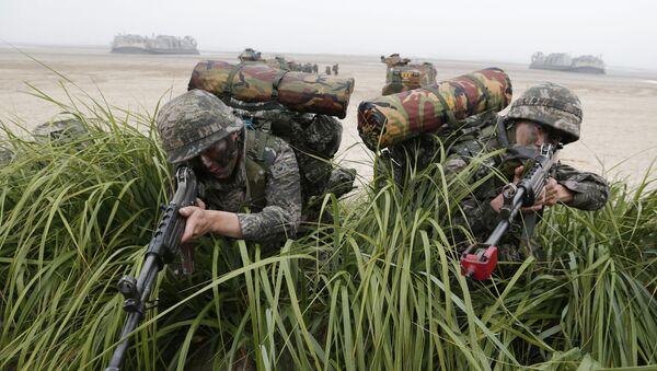 Quân sĩ Hàn Quốc - Sputnik Việt Nam